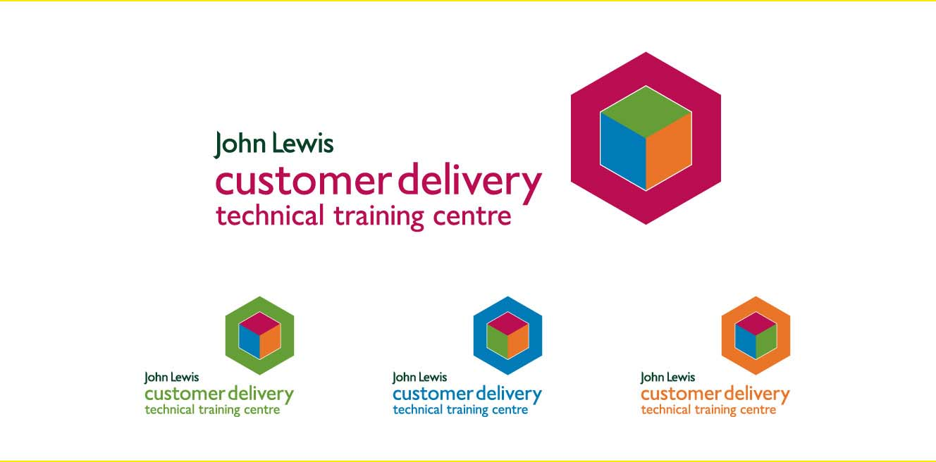 john lewis logo and signage graphic design yellow jersey design rh yellowjerseydesign com Creating a Brand Identity Guide Brand Identity Manual